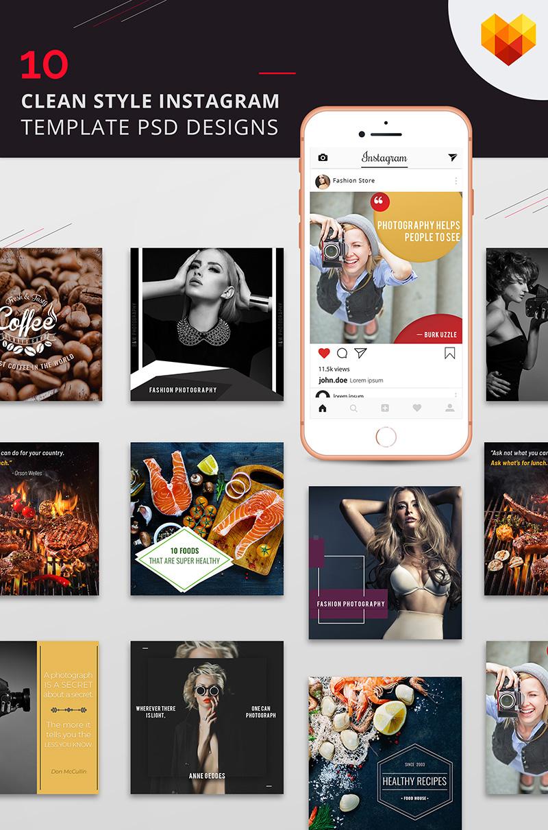 """Sociální sítě """"10 Clean Style Instagram Pictures"""" #68033 - screenshot"""