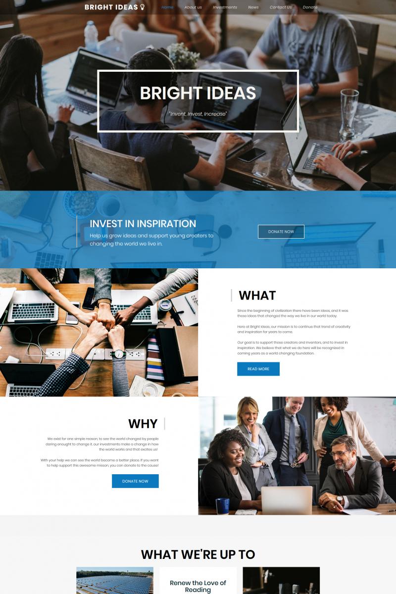 Template MotoCMS 3 (Exclusivo) Flexível para Sites de Negócios e Prestadores de Serviços №68027