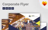 """Unternehmensidentität Vorlage namens """"Depot - Flyer"""""""