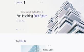 Profitex - Bright Architecture Agency WordPress Elementor Theme