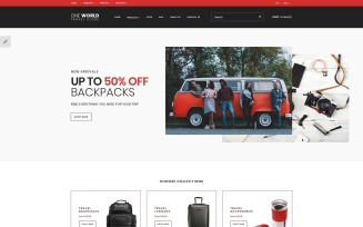 One World - Travel Store OpenCart Template