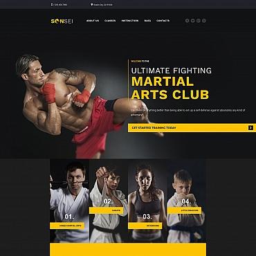 Preview image of Sensei - Martial Arts Club