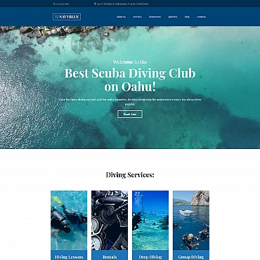 Preview image of NavyBlue - Scuba Diving Club
