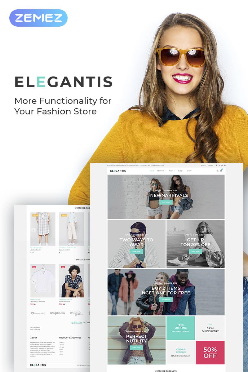 Elegantis - Fashion Store WooCommerce Theme - screenshot