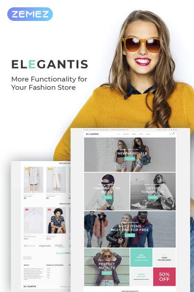 Elegantis - Fashion Store WooCommerce Theme #68104