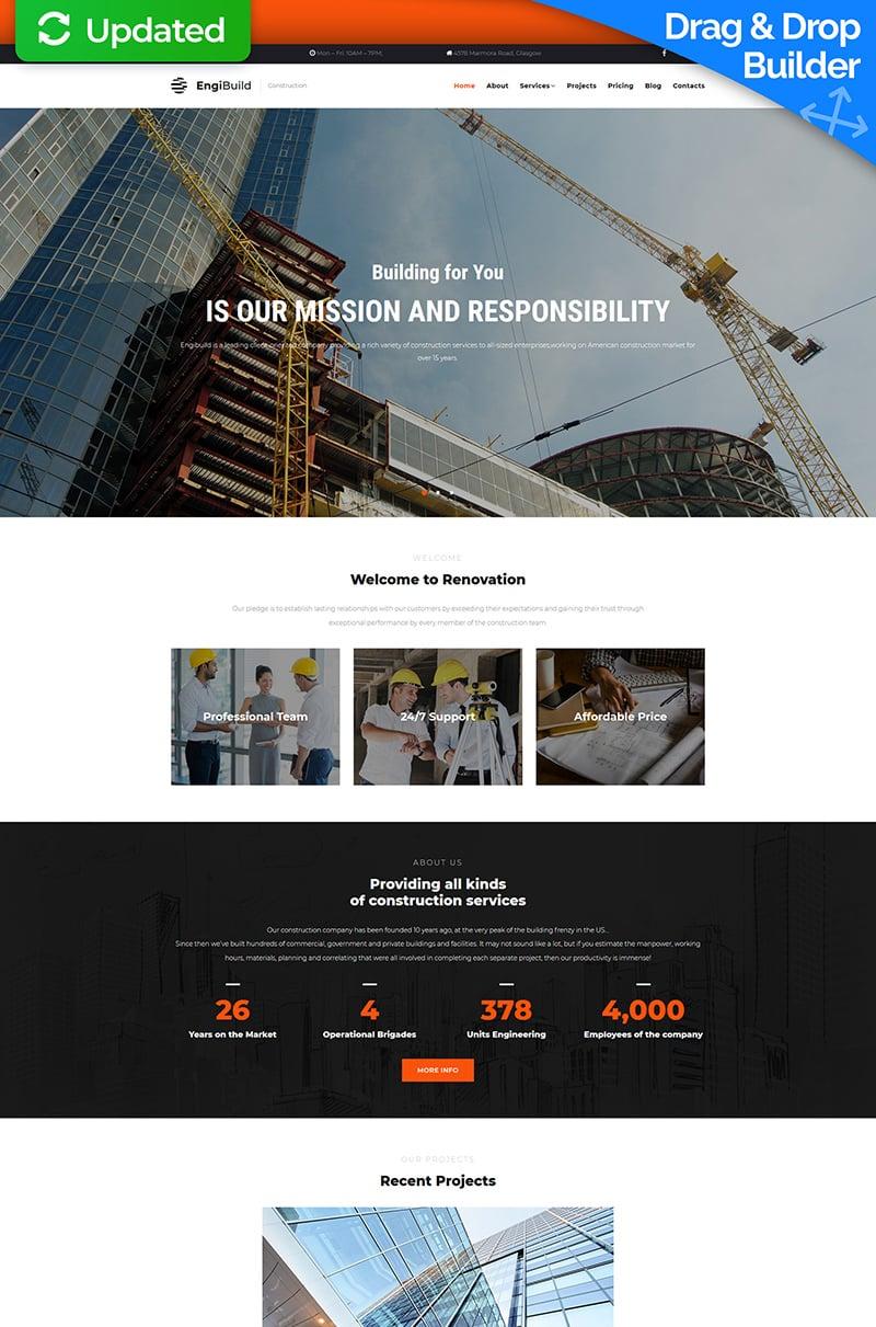 EngiBuild - Construction Company №68182 - скриншот