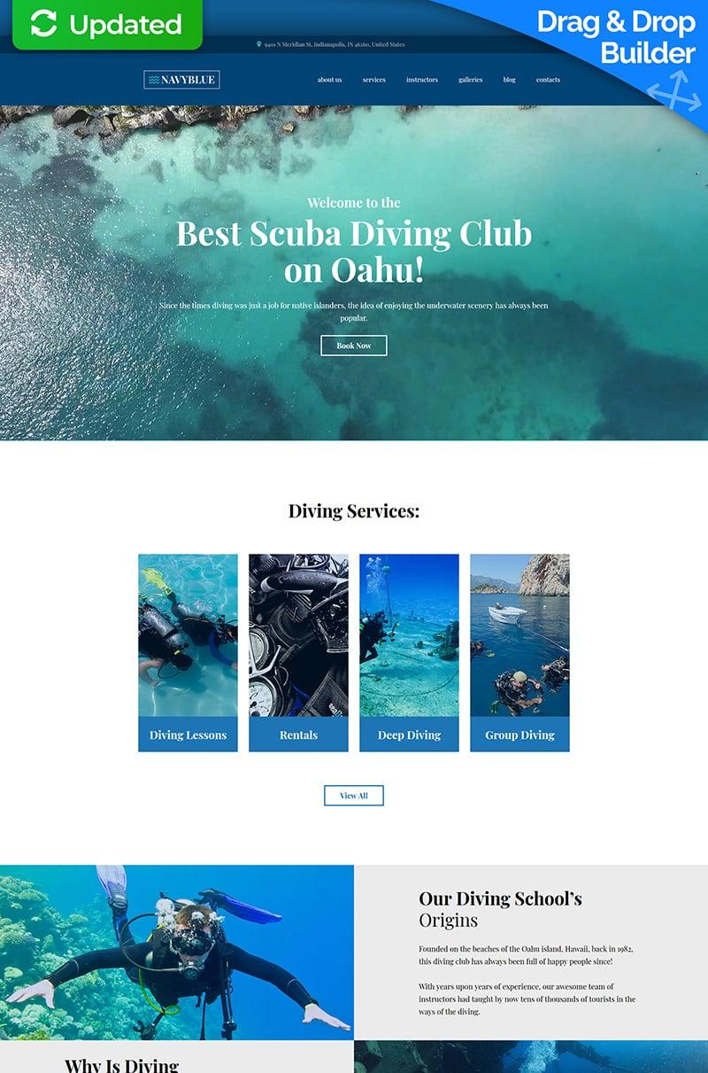 NavyBlue - Scuba Diving Club №68180 - скриншот