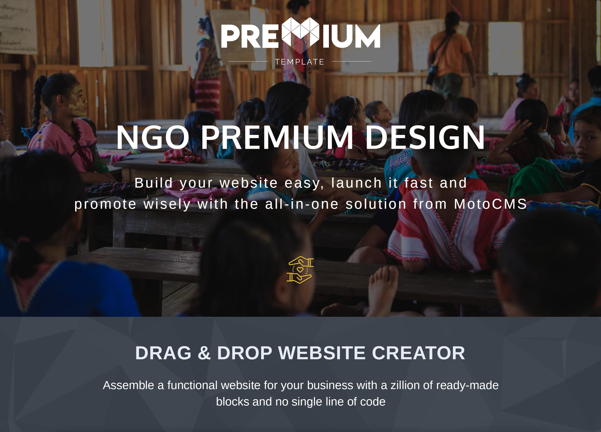 Neumette - Ngo Premium Moto CMS 3 Template