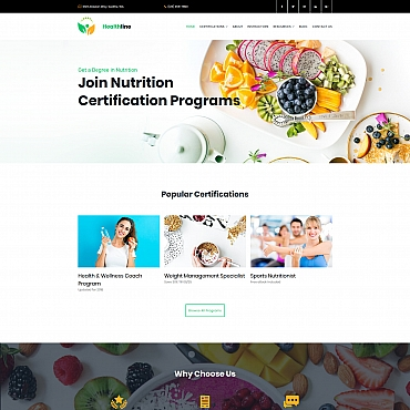 Preview image of Nutrition Certification Programs