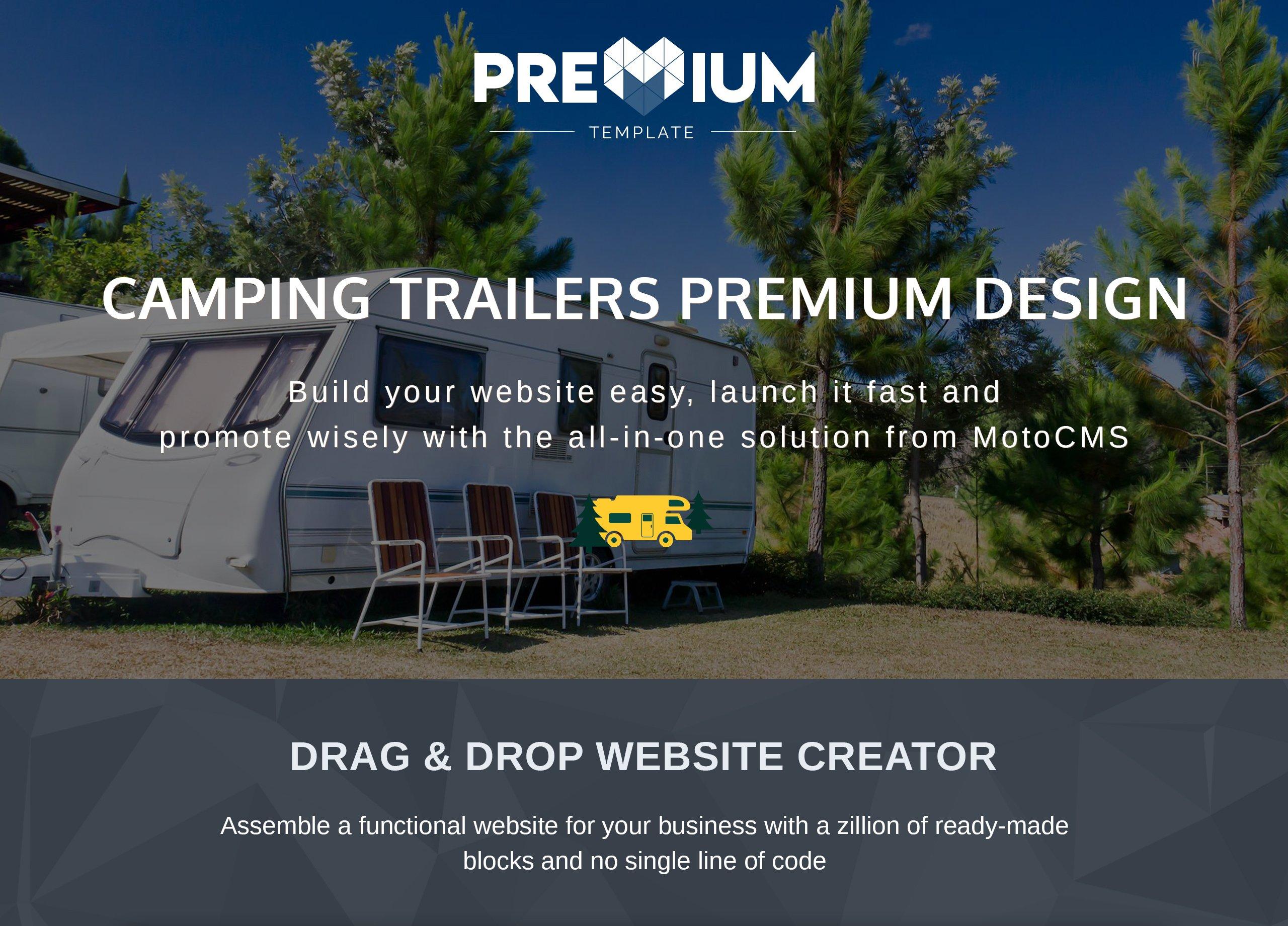 Camper - RV Premium Moto CMS 3 Template