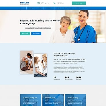 Preview image of Nursing Agency Premium