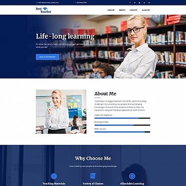 Preview image of Best Teacher - Education MotoCMS 3