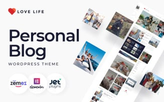 Love Life - Responsive Personal Blog WordPress Theme
