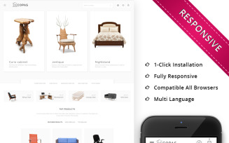 Decopas - The Furniture Store PrestaShop Theme