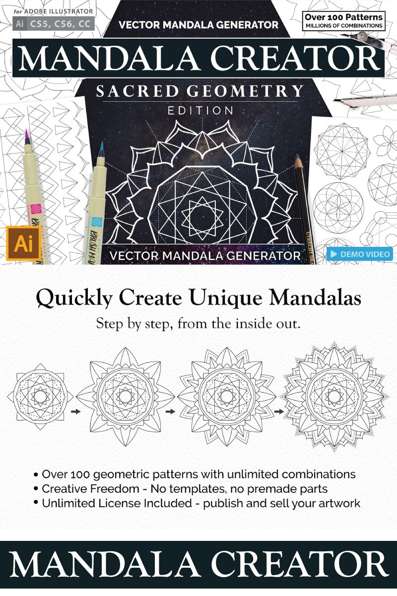 Website Template 68293 Mandala Pattern Template Custom Website