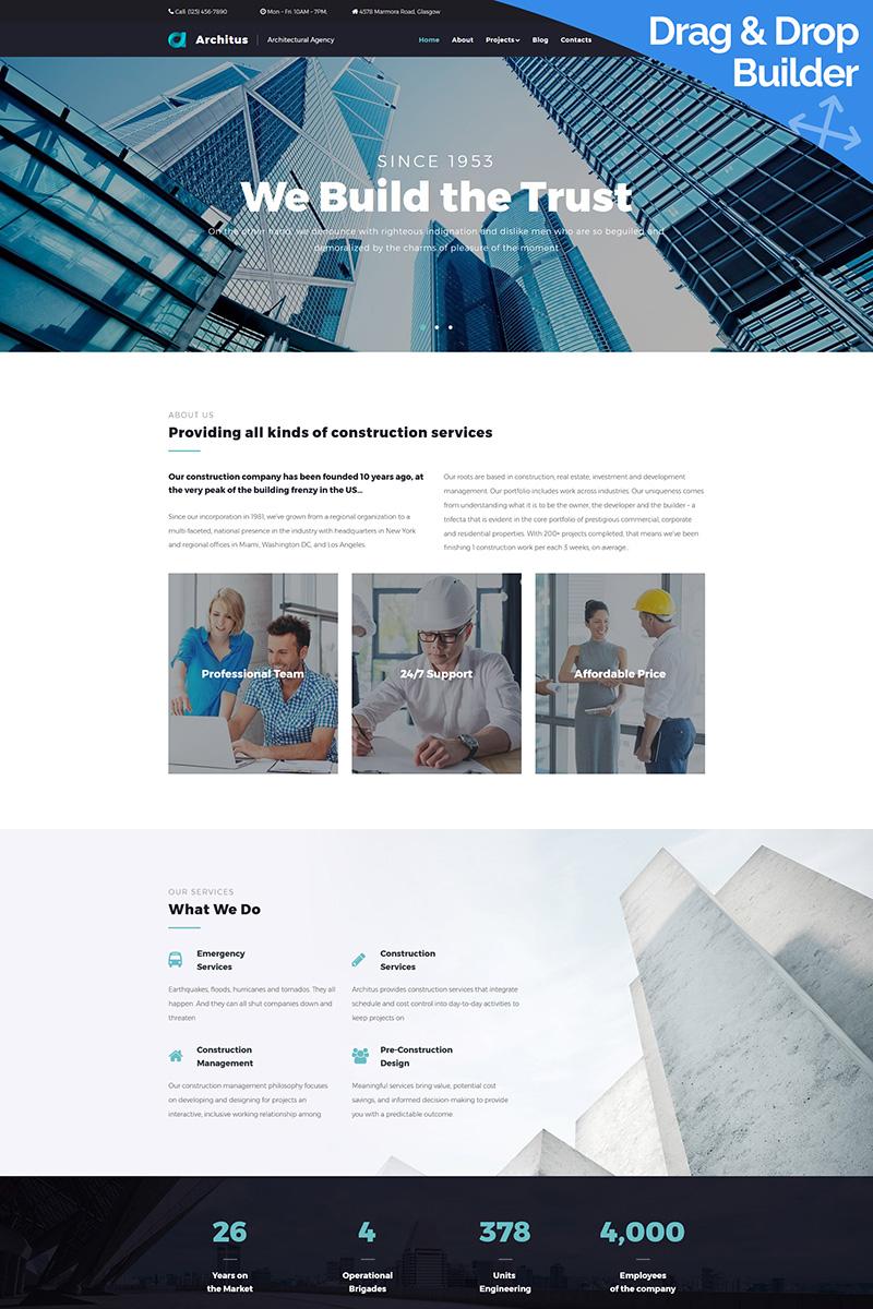Architus - Construction Services №68239