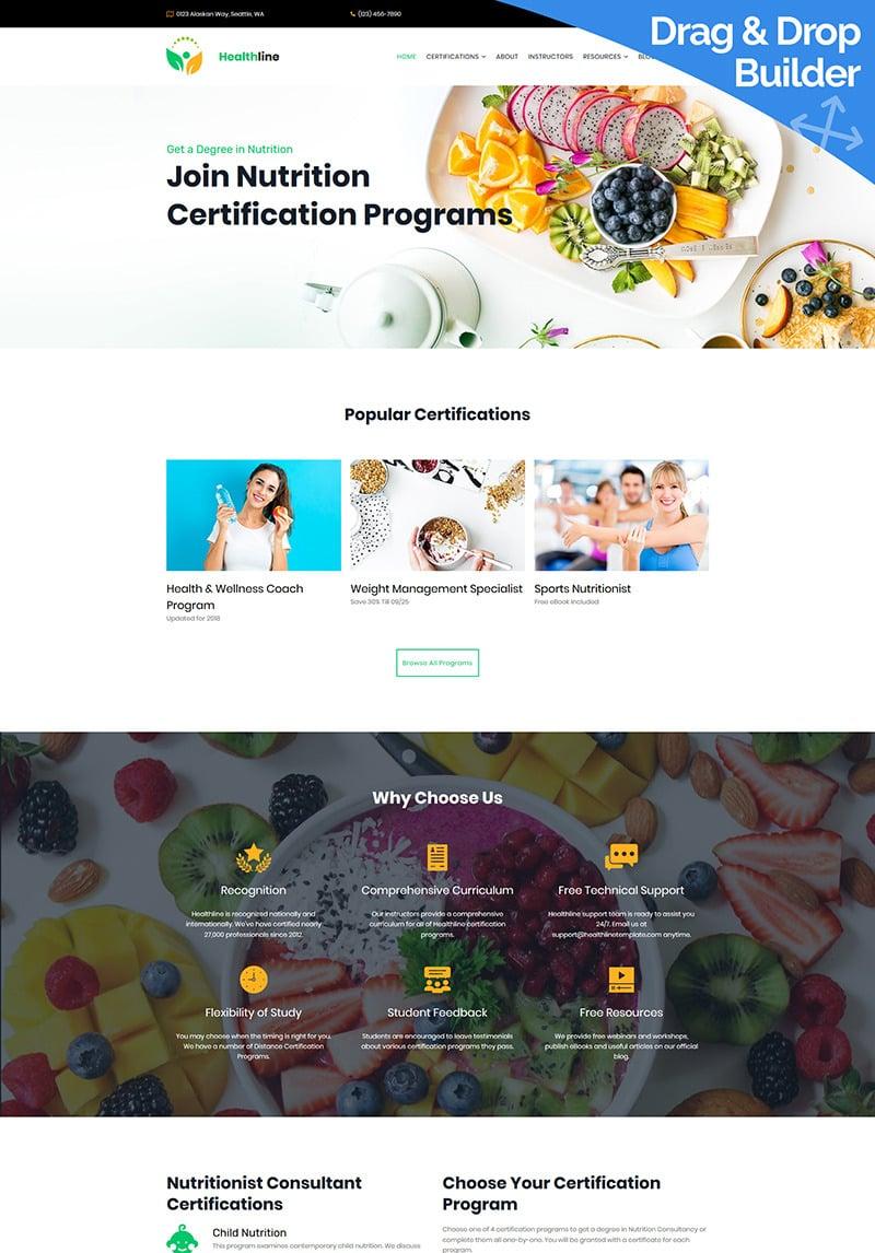 moto certification nutrition cms programs template
