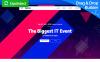 Plantilla para Página de Aterrizaje para Sitio de Organización de eventos New Screenshots BIG