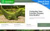 "Tema di Landing Page Responsive #68226 ""Landscape Design MotoCMS 3"" New Screenshots BIG"
