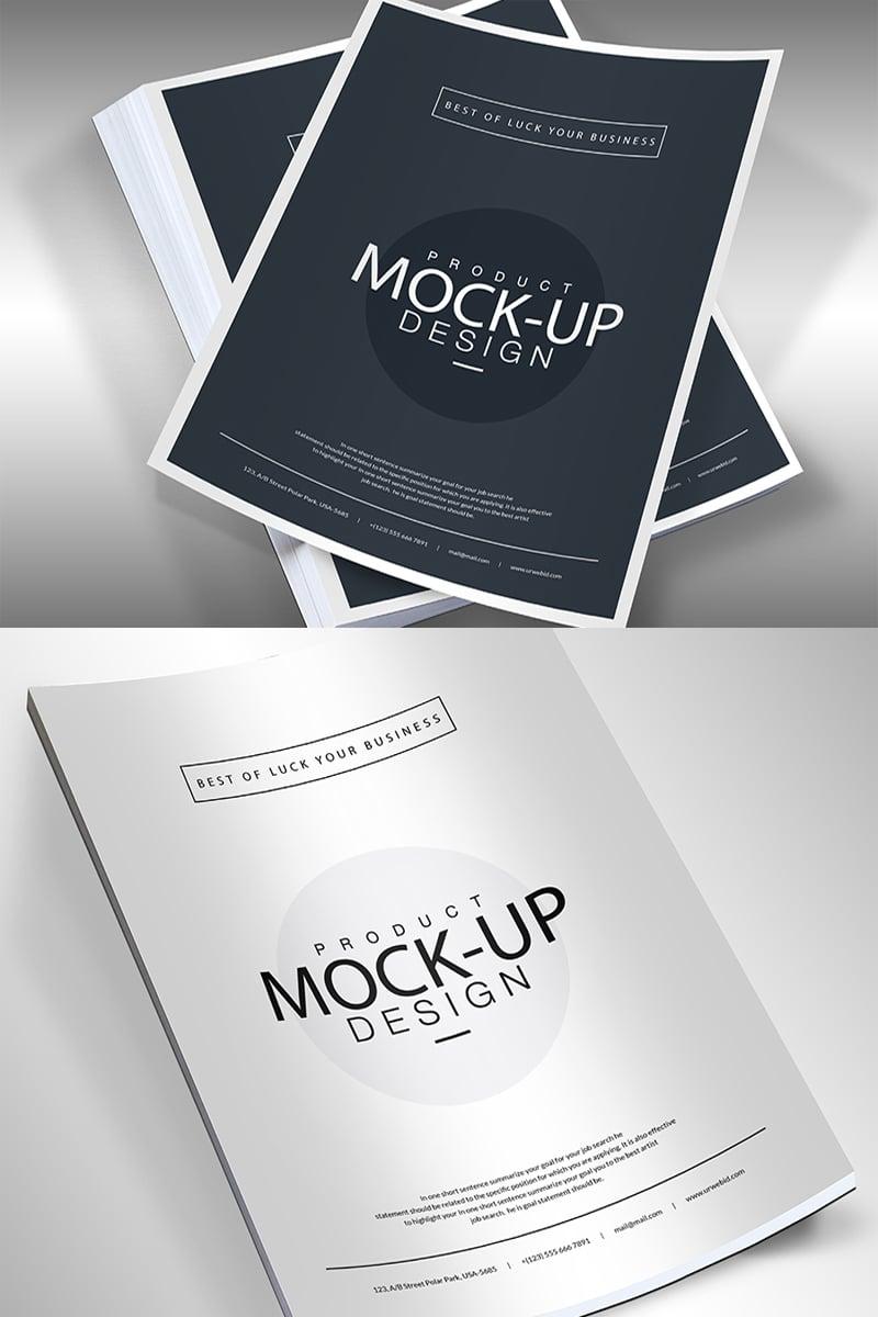 """Template Mockup del prodotto #68287 """"A4 Template Flyer -"""""""