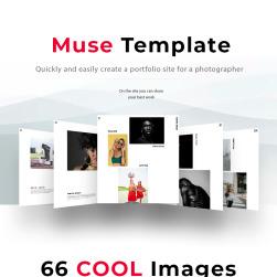 JPhotography - Creative Photographer Portfolio Muse Template #68330