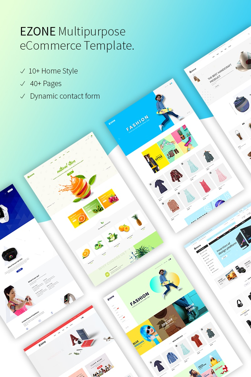 Bootstrap Ezone - eCommerce Web Sitesi #68335
