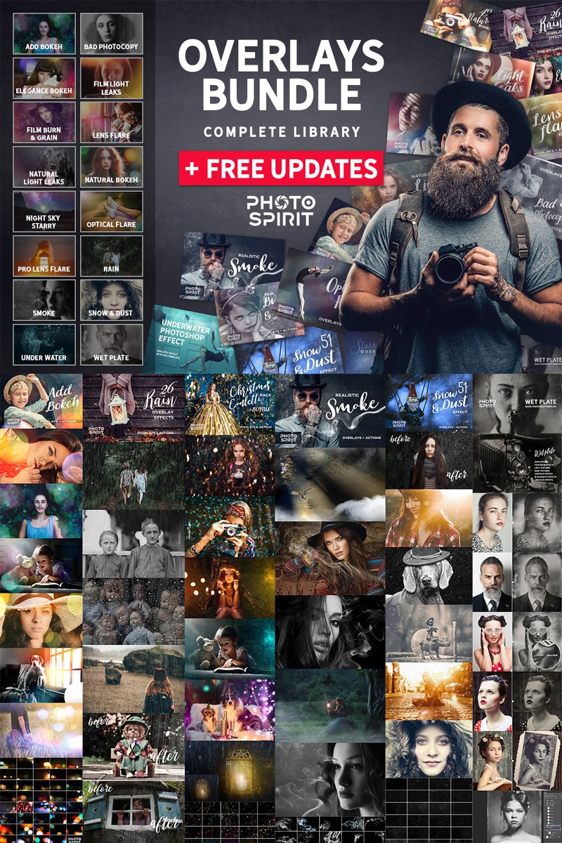 Bundle OVERLAYS  + FREE Updates - #68319
