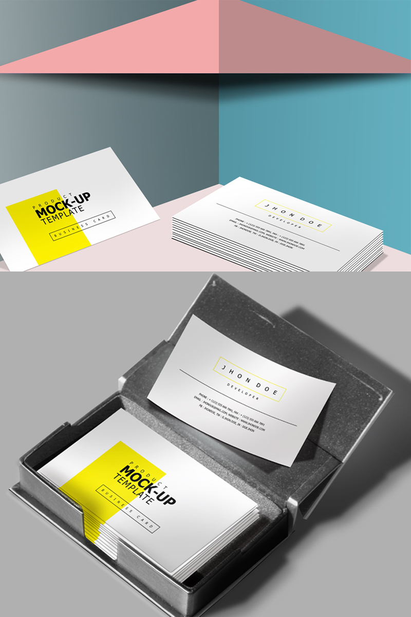 Business Card Product Mockup #68397