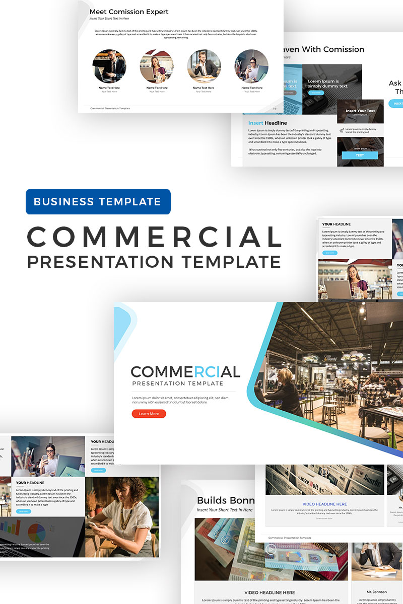 commercial wiring details commercial presentation powerpoint template #68302