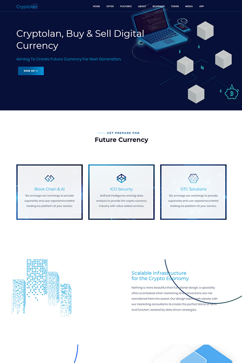 Cryptocurrency Powerpoint Template Buying Bitcoin Vs Mining