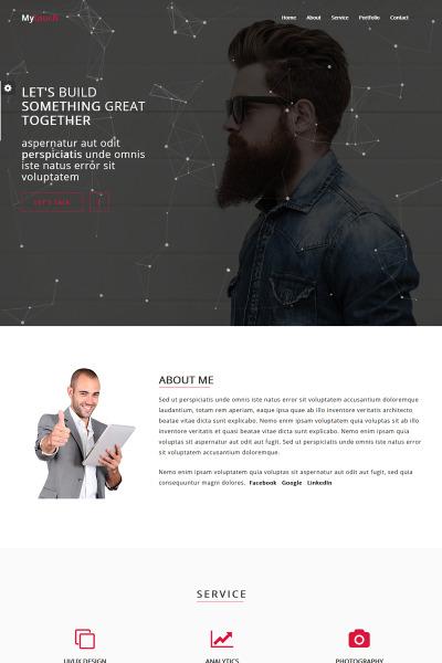 HTML шаблон №68331 на тему веб-дизайн