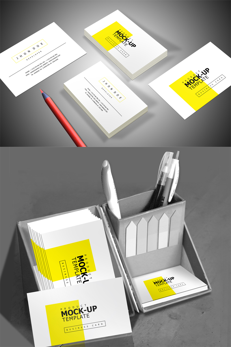 "Maketa produktu ""Corporate Business Card"" #68398"
