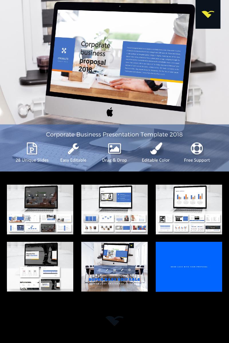 "PowerPoint šablona ""Corporate Business Proposal -"" #68316"