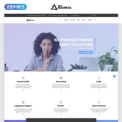 70 best marketing agency website templates templatemonster wajeb Choice Image