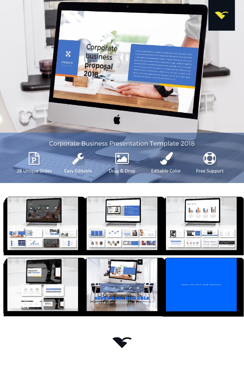Szablon PowerPoint Corporate Business Proposal - #68316