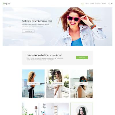 Tema de WordPress #67269 para Sitio de Bloges de moda