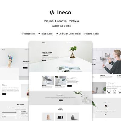 Tema de WordPress #63851 para Sitio de Portafolios de diseñadores