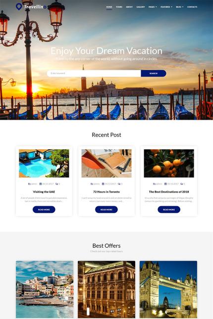 Travellino - Travel Company Elementor