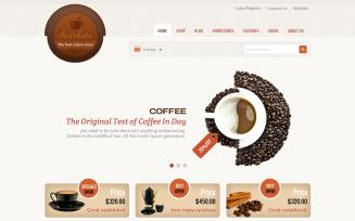 Chocolate - Cake and Coffee WooCommerce Theme