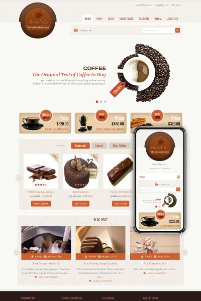 Chocolate - Cake Store
