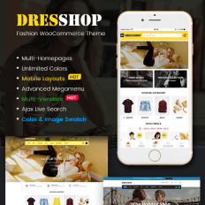 Womens Fashion Clothing Templates TemplateMonster - Free downloadable invoice templates women clothing stores online
