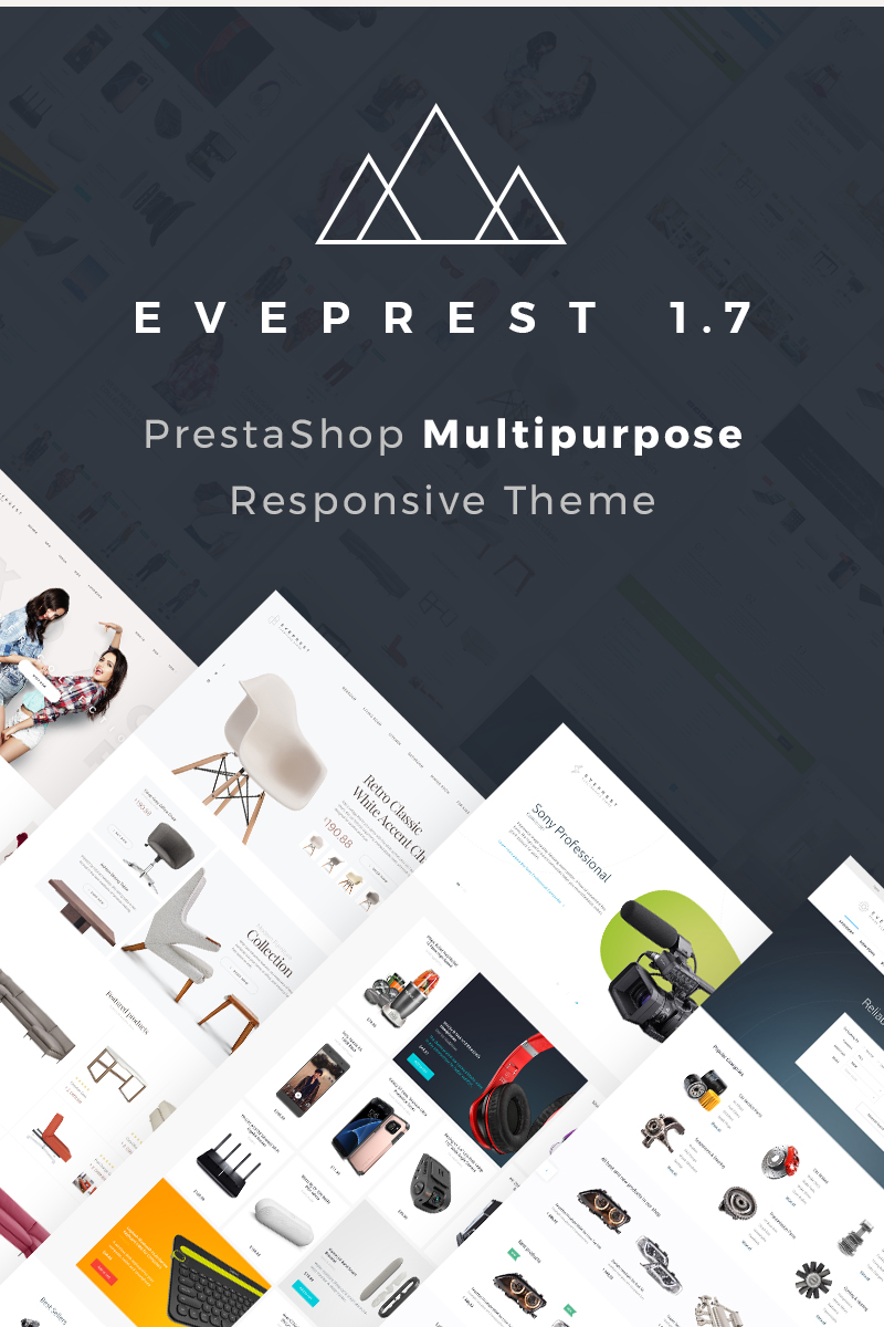 Eveprest 1.7 - Multipurpose PrestaShop Theme - screenshot