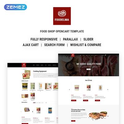 Food Restaurant Templates TemplateMonster - Free billing invoice template microsoft word universal studios store online