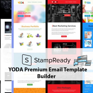 Preview image of Yoda Email Creator for Stampready