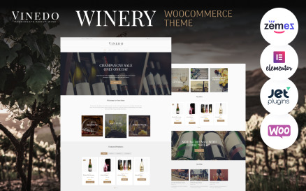 Vinedo - Vinery Elementor WooCommerce Theme