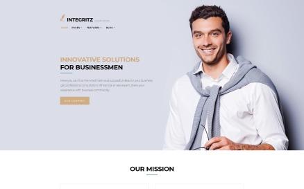 Integritz - Responsive Law Firm Elementor WordPress Theme