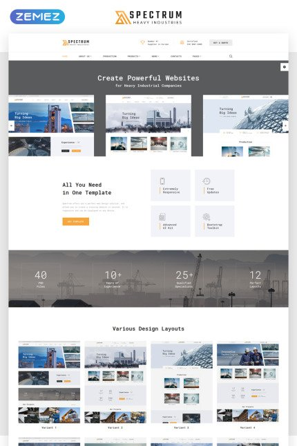 HTML Template 68521