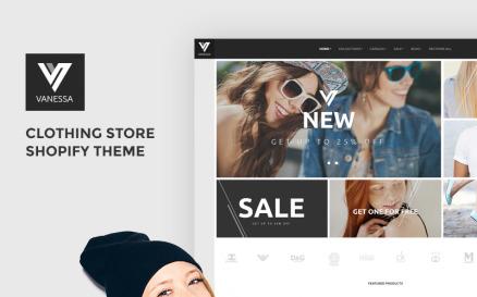 Vanessa - Clothing Store Shopify Theme