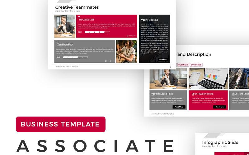 Associate Presentation PowerPoint Template