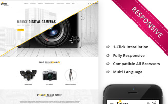 Pixelstudio - The Electronic Store PrestaShop Theme